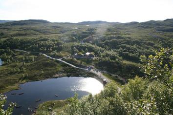 Camp Hjørnås Kanopadling