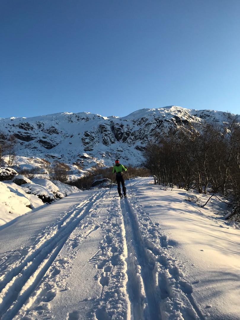 Midt mellom Kjørkjedalen og Bergstølen
