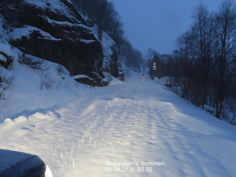 Skarstølen 08.04.21 kl. 20.50