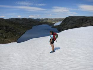 isbre nordfjedlet 27 05 18 staar på bree