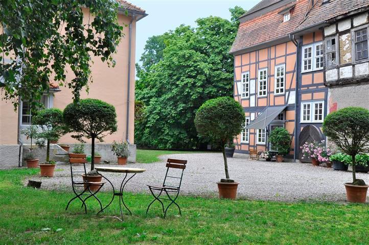 Innenhof Gut Willershausen