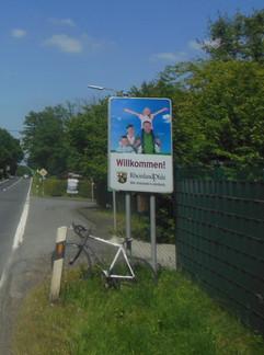 mit dem Rennrad nach Mehren / Westerwald