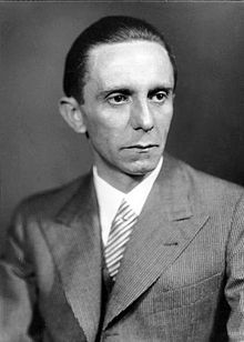 Joseph Goebbels - der Inbegriff des bösen Rheinländers