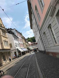 Wiedersehensfreude in Freiburg