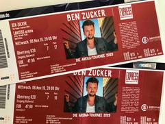 Ben Zucker in der Lanxess-Arena in Köln