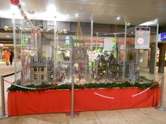 die Friedenskrippe im Kölner Hauptbahnhof