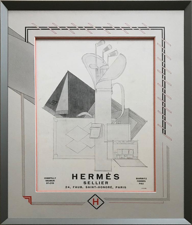 Hermès, Faubourg St Honoré.