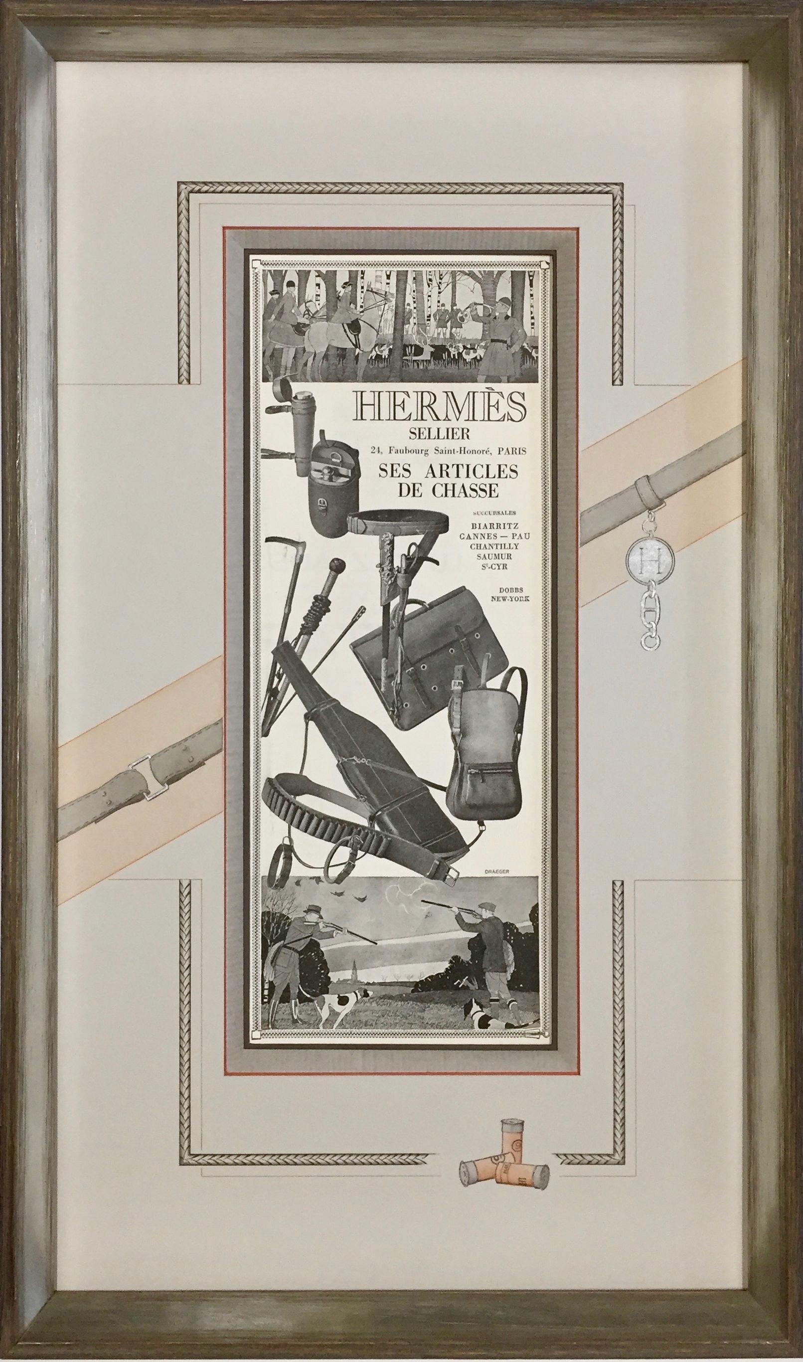 Chasse et sellerie Hermès