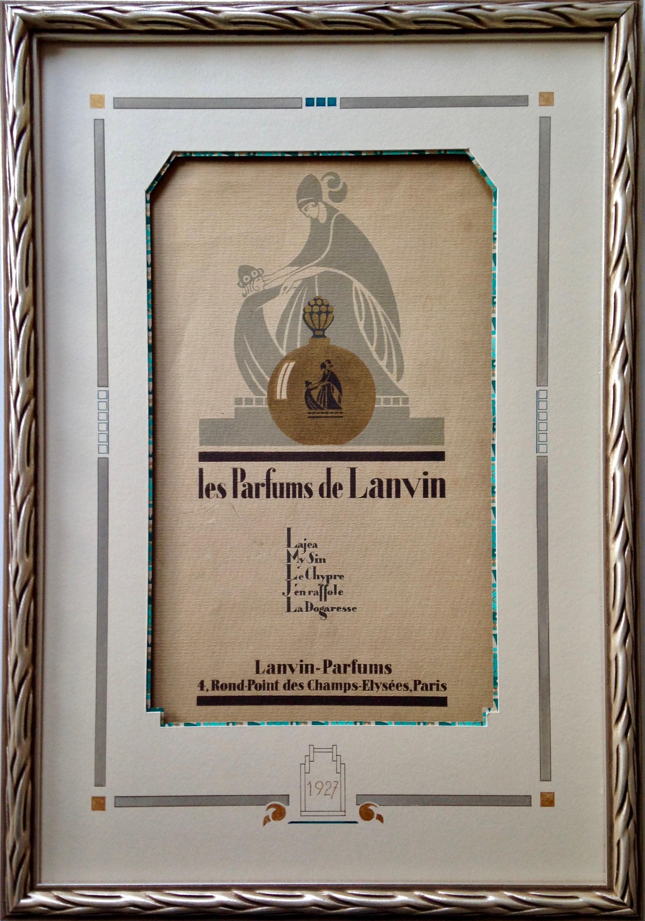 Les parfums de Lanvin