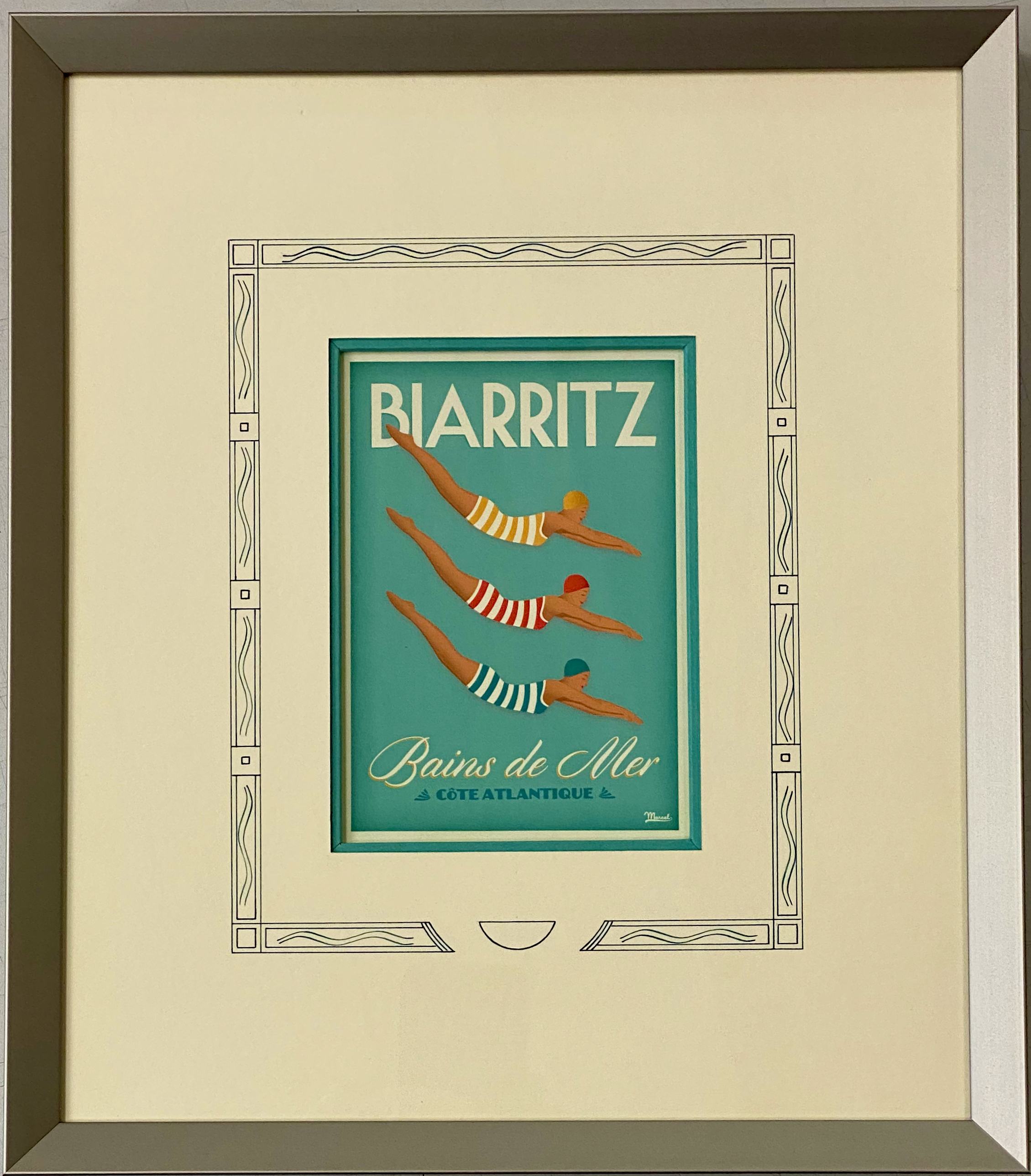 Biarritz, Bains de mer.