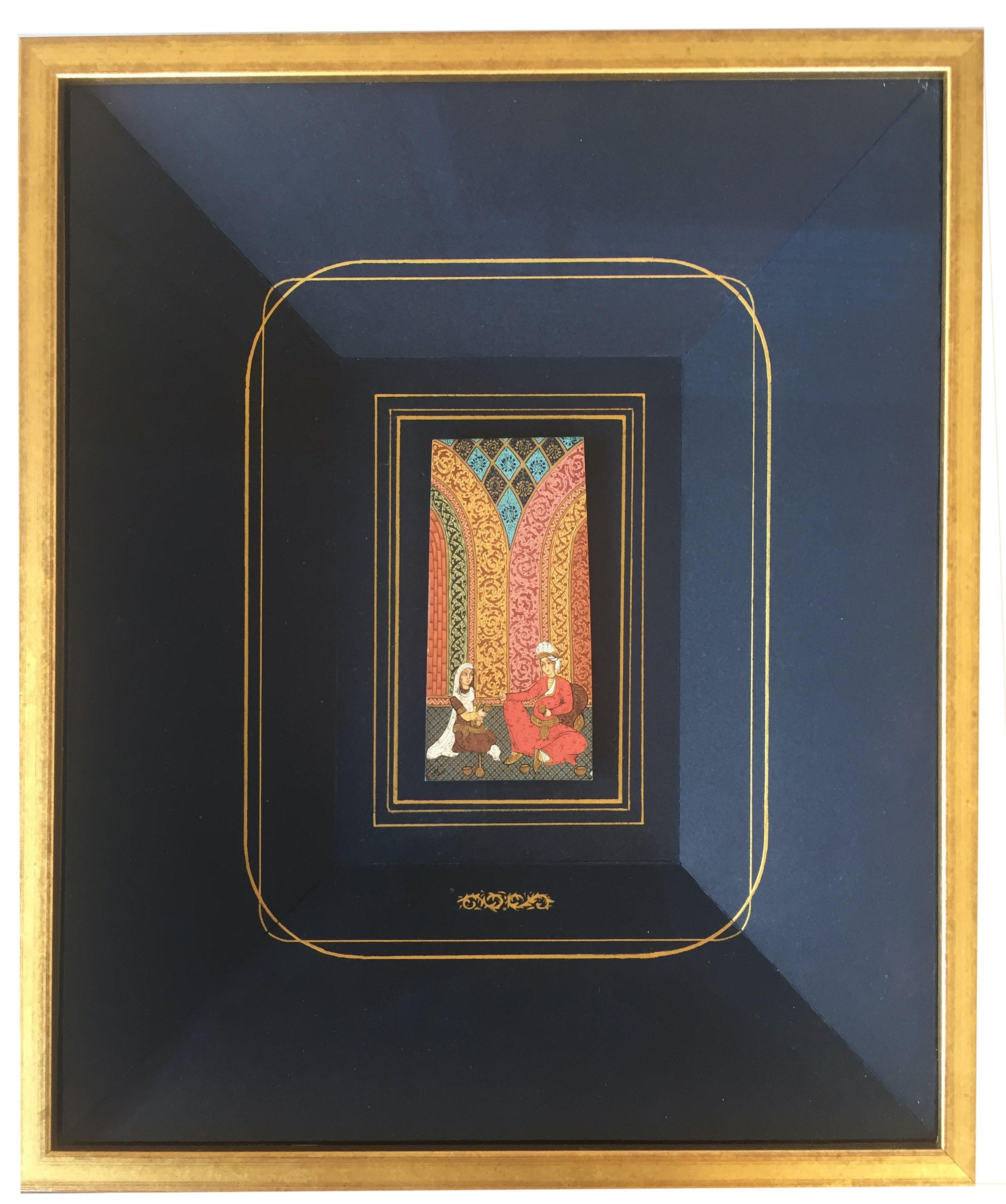Miniature sur bois, Inde
