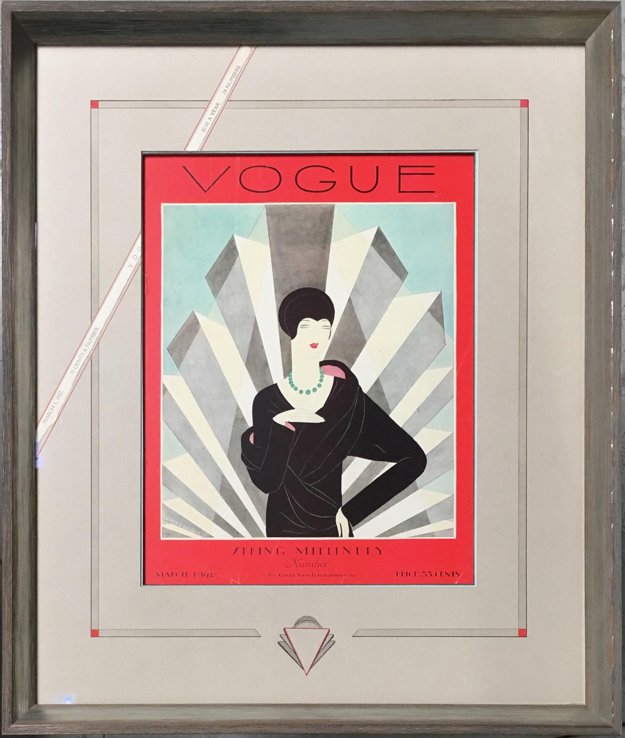 Page de couverture de Vogue