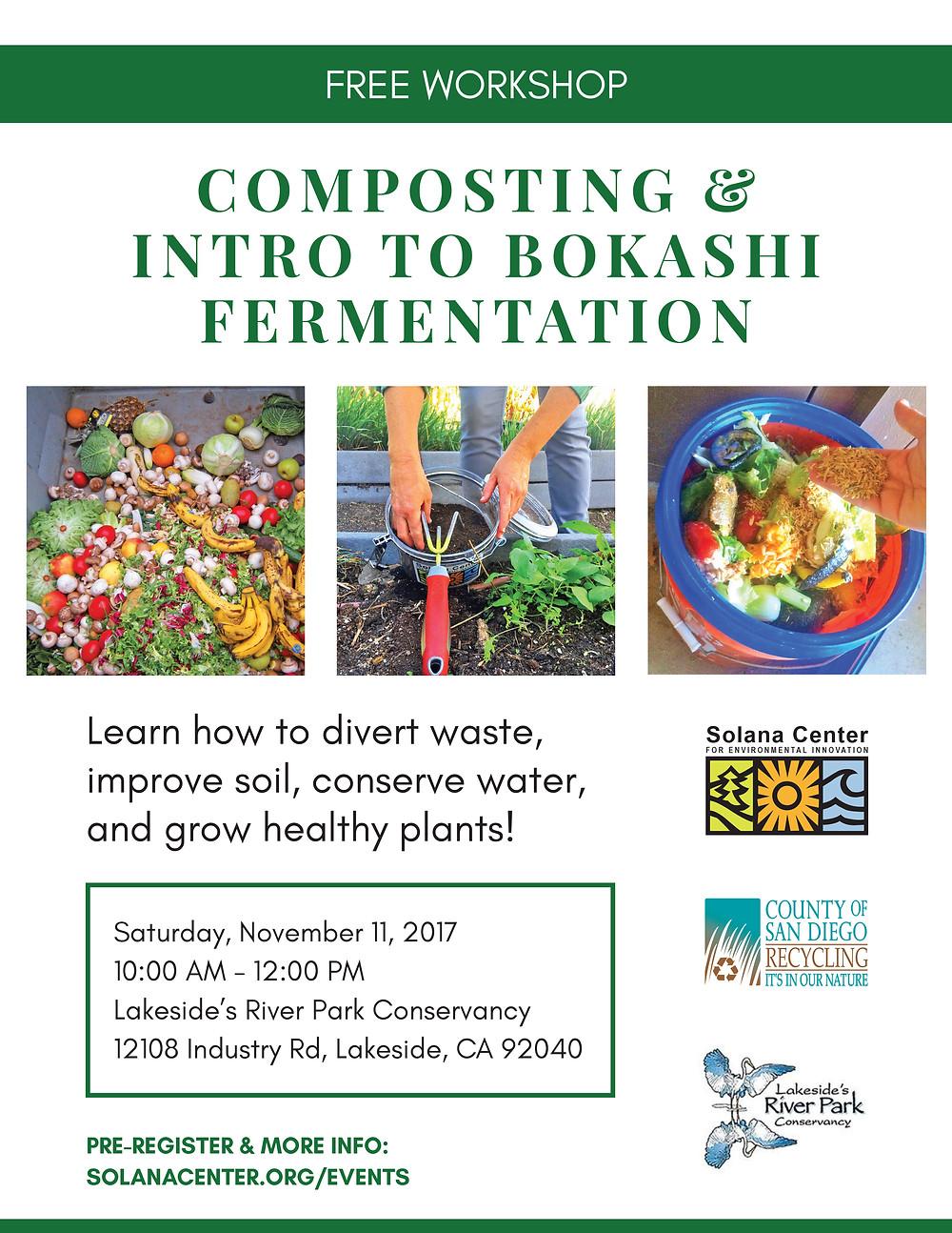 Composting - traditional and Bokashi methods