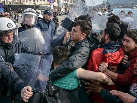 Migrants Caught in a Crossfire: From Turkey to Greece