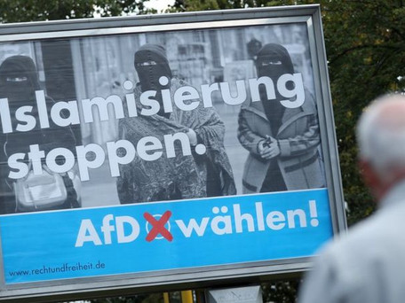 German Right-wing Party Operates on a Dangerous Platform of Anti-immigration