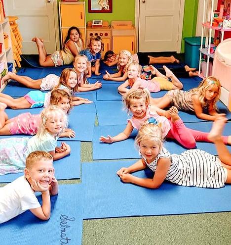 Preschool Children Yoga