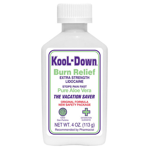 3 pack - Extra Strength KooL-Down, 3.9% Lidocaine Numbing Cream (4 oz)