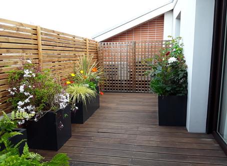 Aménagement d'un balcon ( Toulouse Centre )