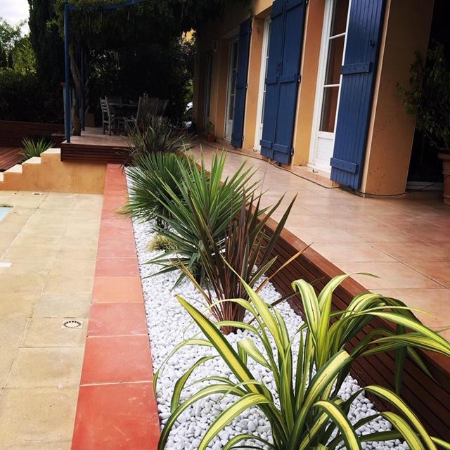 jardinière végétalisée plantes méditerranéennes