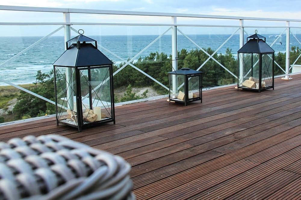 decoration terrasse lanterne