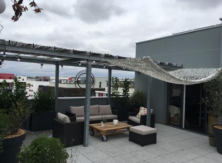 Aménagement d'une terrasse (Toulouse Montaudran)