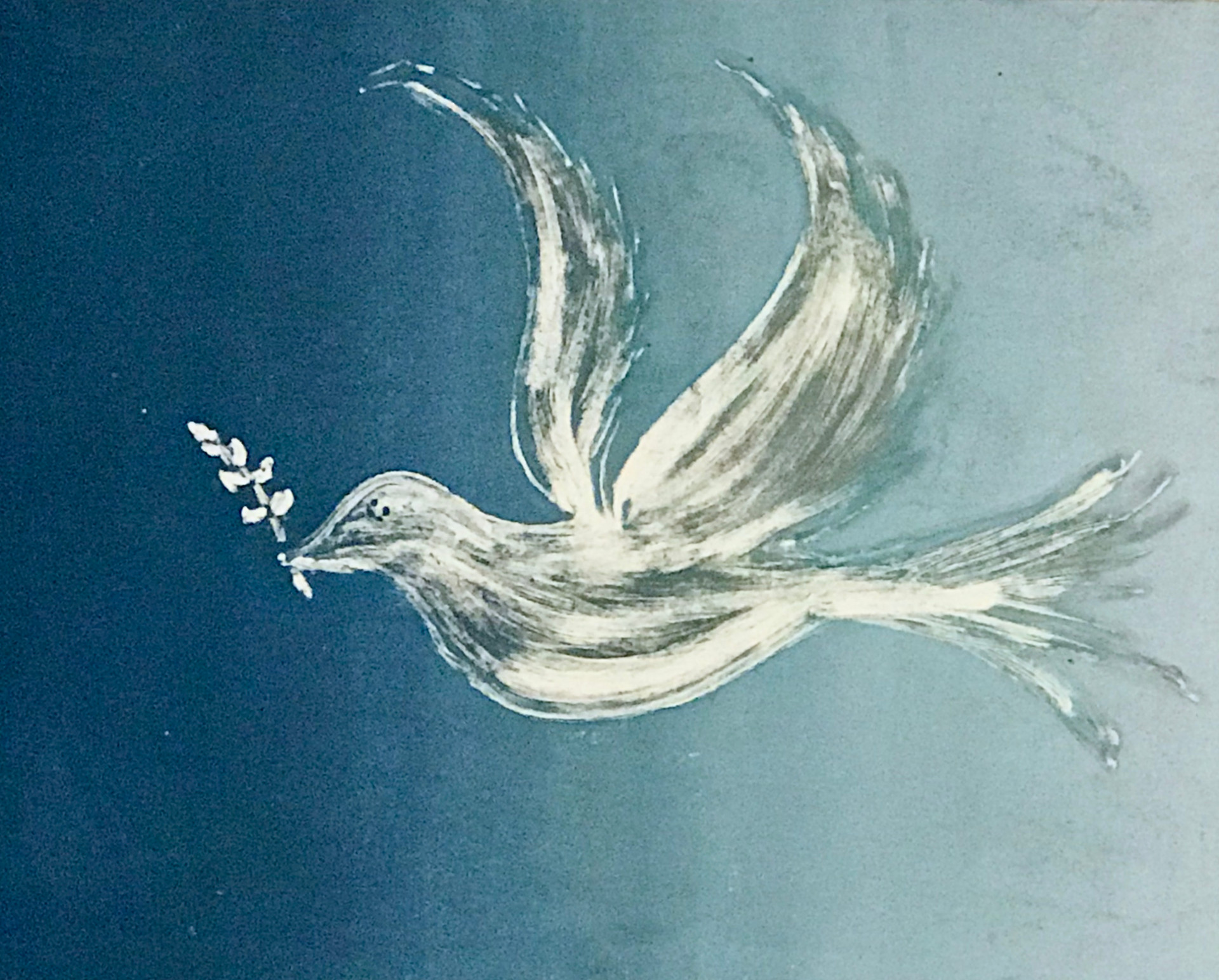 Dove of Peace, Monotype