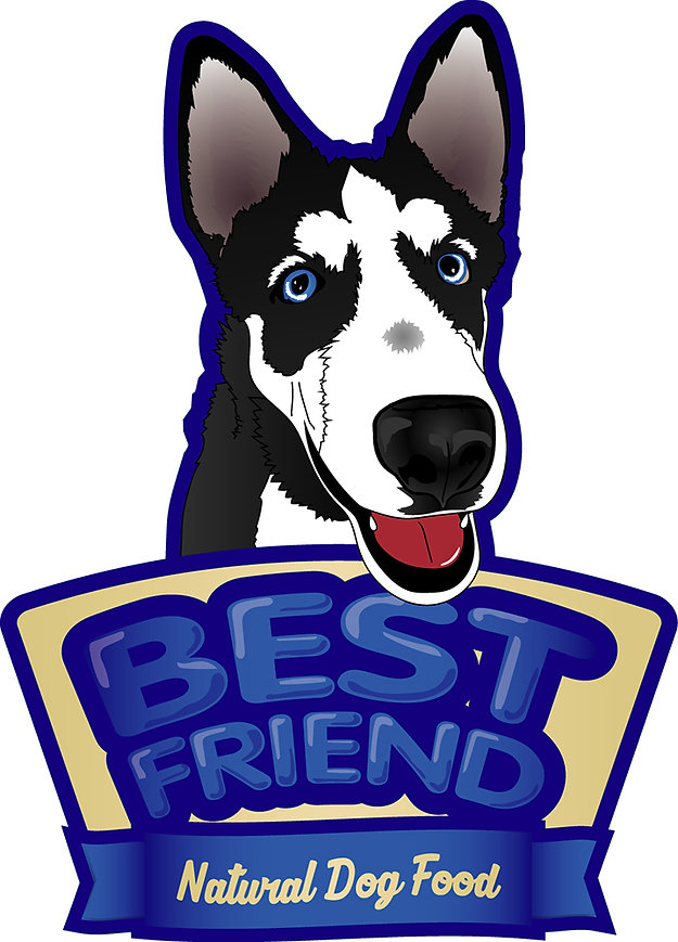 Best Friend, Natural Dog Food LOGO Web.j