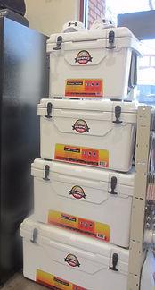 Rhino roto-molded coolers