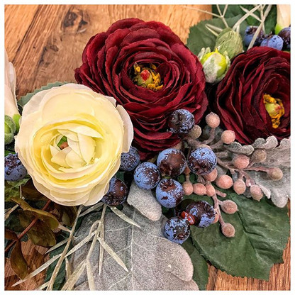 Festive Floral Details