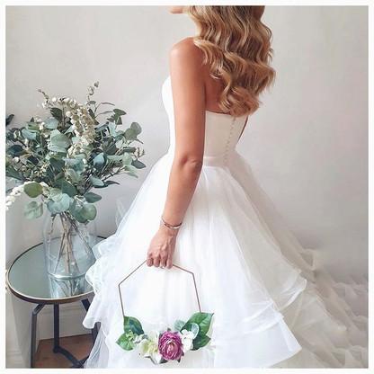 Bridal Hoops