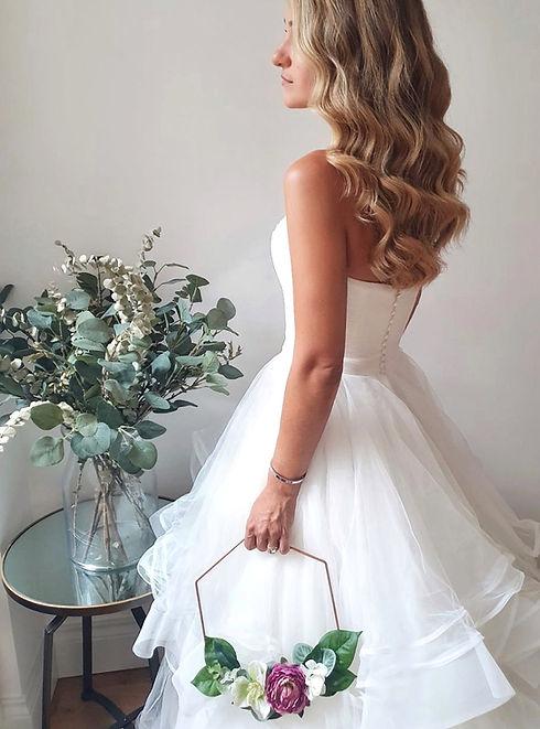 bridal silk flowers
