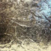 'You Said' - Arborglyph impressionsin fused glass