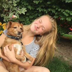 Mia and Hammish
