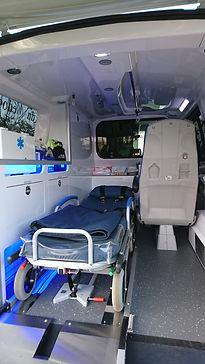 Intérieur Ambulances du Médoc