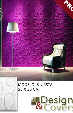 CAJA DE 3M2  3D FIBRA DE BAMBU MODELO BURSHTA