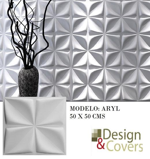 CAJA DE 3M2  3D FIBRA DE BAMBU MODELO ARYL