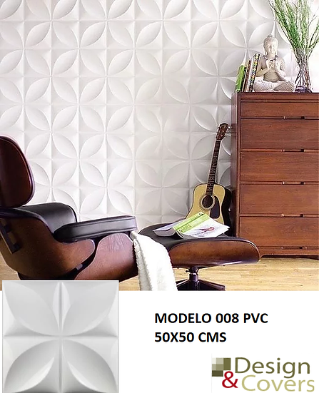 CAJA DE 2.5 M2 PANEL PVC MODELO 008
