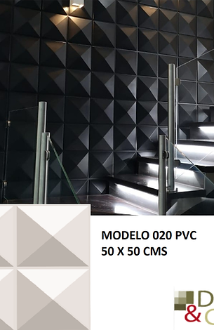 CAJA DE 2.5 M2 PANEL PVC MODELO 020