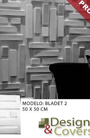 CAJA DE 3M2  3D FIBRA DE BAMBU MODELO BLADET 2