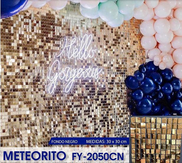 PANEL 4D TIPO LENTEJUELAS MODELO METEORITO 2050 CN