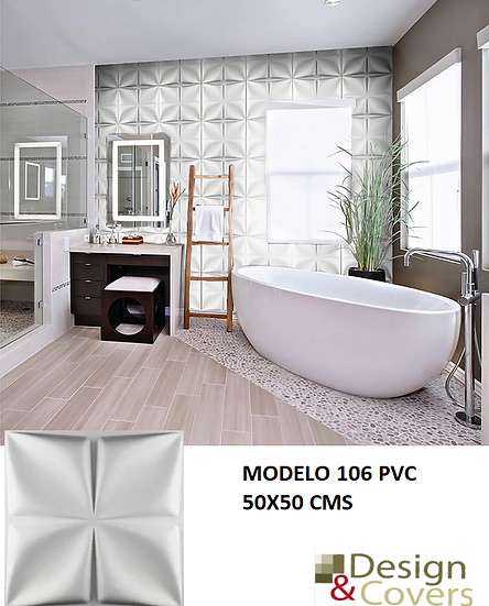 CAJA DE 2.5 M2 PANEL PVC MODELO 106