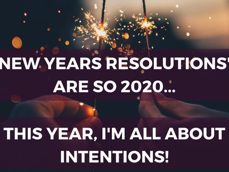 """For 2021, I Release the """"New Years Resolution"""""""