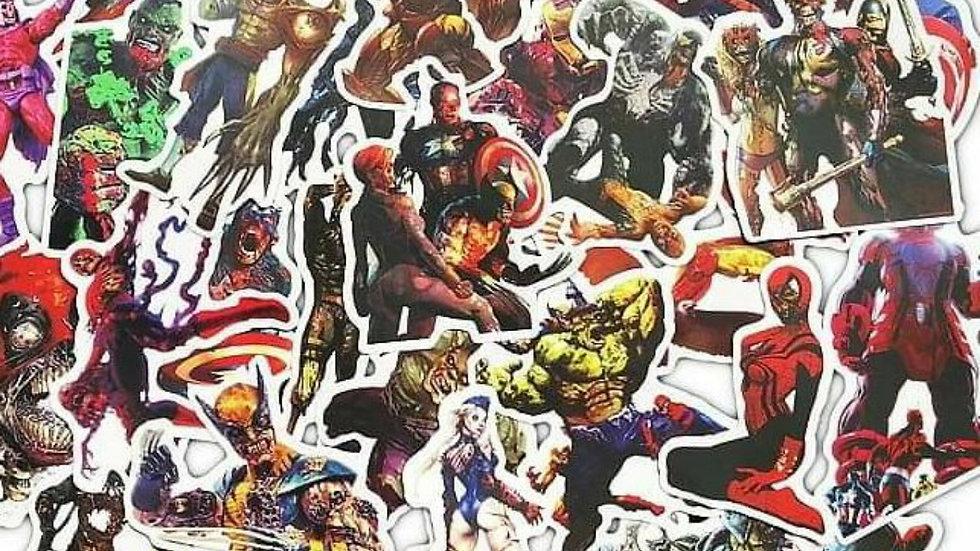 Marvel Zombie mystery sticker packs