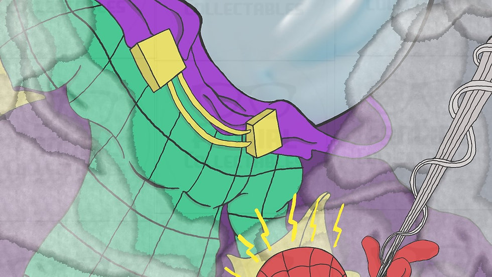 Marvel - Spider-man vs Mysterio Art Print