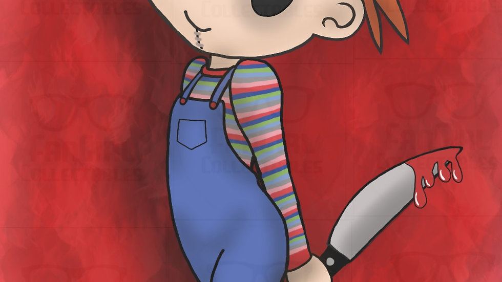 Horror Chucky 04 Art Print