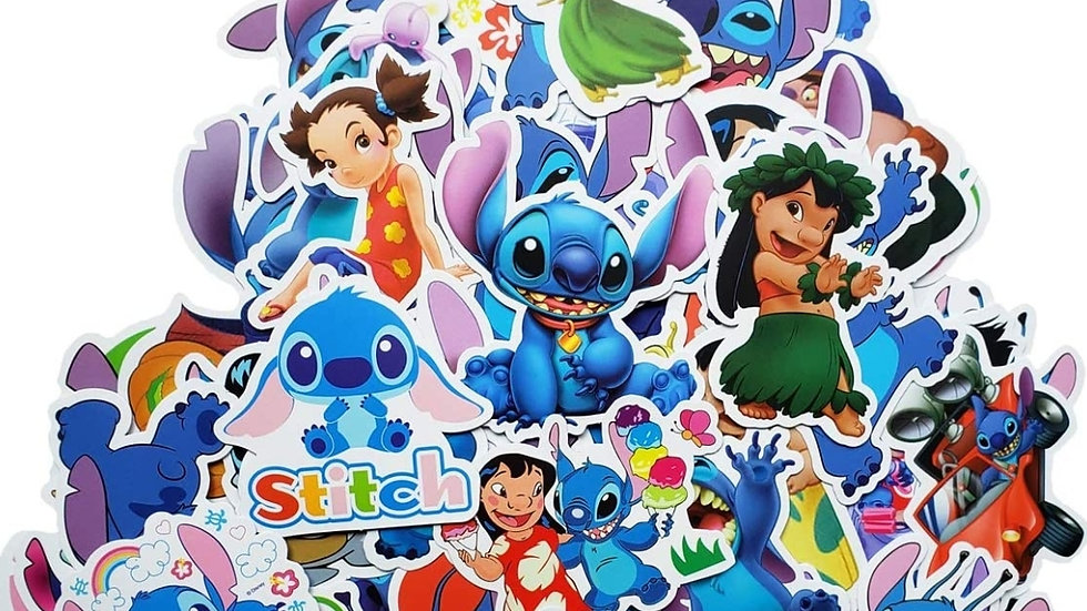 Lilo and Stitch mystery sticker packs