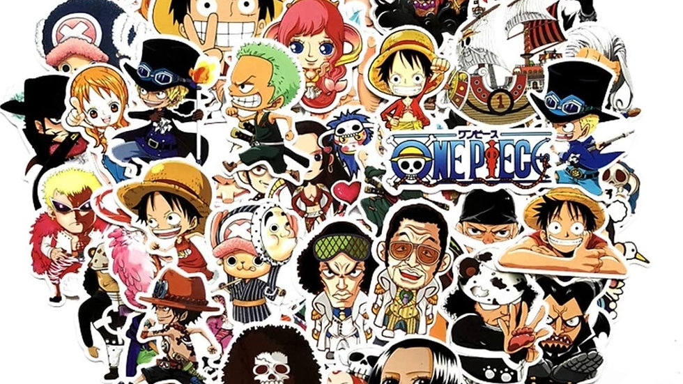 One Piece mystery sticker pack