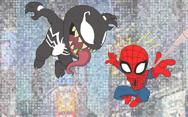Marvel - Spider-man vs Venom.jpg