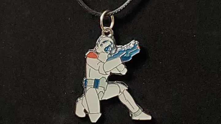 Cartoon Star Wars Stormtrooper Neckless