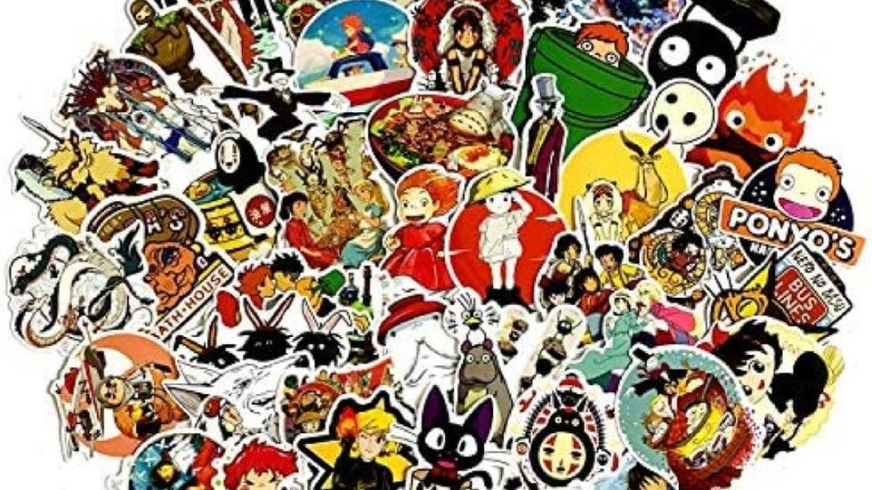 Studio Ghibli mystery sticker packs